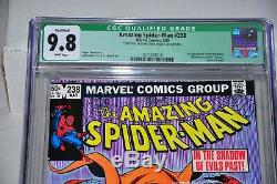 Amazing Spider-Man 238 CGC 9.8 White Pages 1st Hobgoblin Qualified