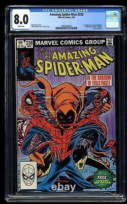 Amazing Spider-Man #238 CGC VF 8.0 White Pages 1st Hobgoblin