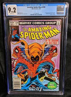 Amazing Spider-Man # 238 Newsstand CGC 9.2 Universal WHITE 1st Hobgoblin