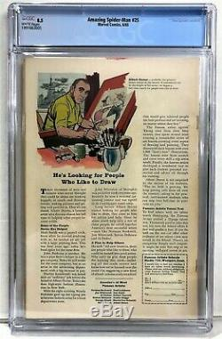 Amazing Spider-Man #25 1965 CGC 8.5 White Pages