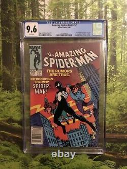 Amazing Spider-Man #252 CGC 9.6 Newsstand White Pages