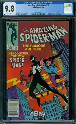 Amazing Spider-Man 252 CGC 9.8 White Pages