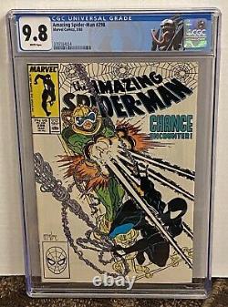 Amazing Spider-Man 298 CGC 9.8 White Pages 1st McFarlane Custom Label