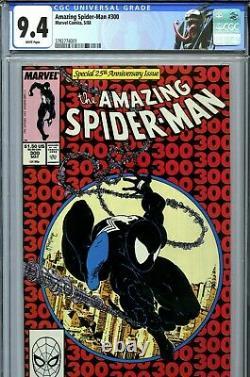 Amazing Spider-Man #300 (1988) Marvel CGC 9.4 White Pages 1st Full Venom