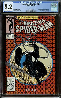 Amazing Spider-Man #300 1st Print CGC 9.2 White Pages 1st Appearance of Venom