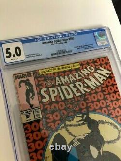 Amazing Spider-Man 300 CGC 5.0 White Pages 1st Venom