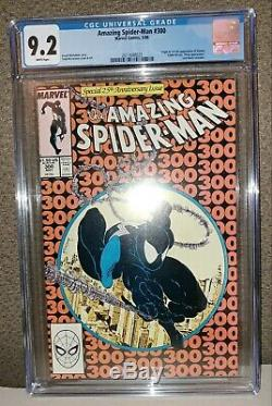 Amazing Spider-Man #300 CGC 9.2 White Pages 1st Venom New