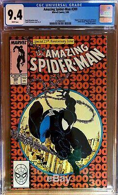 Amazing Spider-Man 300 CGC 9.4 NM Venom WHITE Pgs New Slab Best 9.4 You'll Find