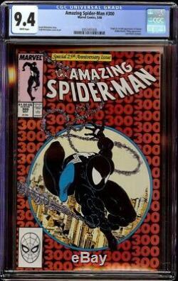 Amazing Spider-Man # 300 CGC 9.4 White (Marvel 1988) 1st appearance of Venom