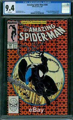 Amazing Spider-Man 300 CGC 9.4 White Pages