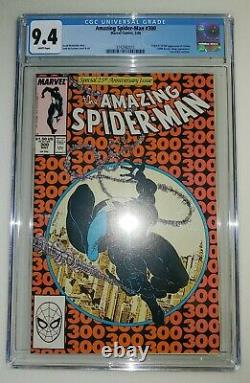 Amazing Spider-Man #300 CGC 9.4 White Pages 1st Venom Appearance