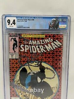 Amazing Spider-Man 300 CGC 9.4 White Pages Custom Venom Label