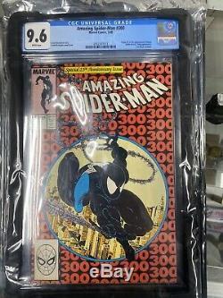 Amazing Spider-Man #300 CGC 9.6 WHITE pgs Origin & 1st full appearance of Venom