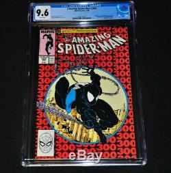 Amazing Spider-Man 300 CGC 9.6 White Pages 1988 Venom