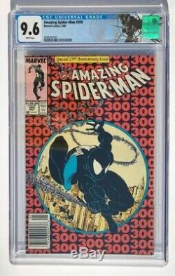 Amazing Spider-Man #300 CGC 9.6 White Pages 1st Venom Todd Mcfarlane Newsstand
