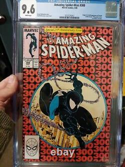 Amazing Spider-Man #300 CGC 9.6 White pages 1st Appearance of Venom NM+