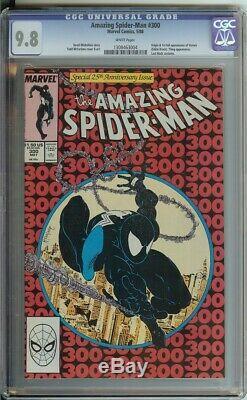 Amazing Spider-Man #300 CGC 9.8 Nice! White Pages First Venom