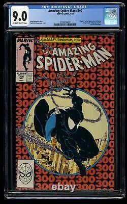 Amazing Spider-Man #300 CGC VF/NM 9.0 Off White to White 1st Venom