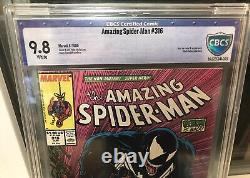 Amazing Spider-Man #316 CBCS (Like CGC) 9.8 WHITE Todd McFarlane 1st Venom Cover