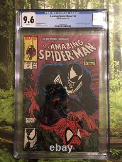 Amazing Spider-Man 316 CGC 9.6 White Pages 1st Full Cover Of Venom