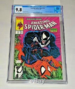 Amazing Spider-Man 316 CGC 9.8 White Pages 1989 Todd McFarlane Venom