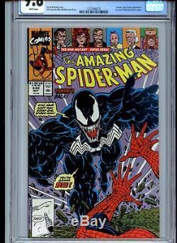 Amazing Spider-Man #332 CGC 9.8 White Pages Venom