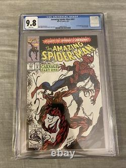 Amazing Spider-Man #361 (Apr 1992, Marvel) 1st full Carnage CGC 9.8 White pages