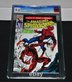 Amazing Spider-Man 361 CGC 9.6 White Pages 1992 1st Appearance of Carnage
