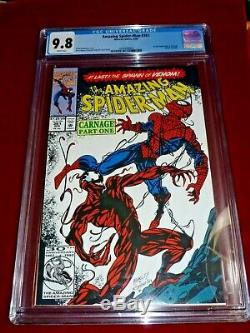 Amazing Spider-Man #361 CGC 9.8 1st appearance of Carnage WHITE PAGES