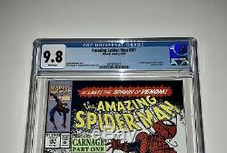 Amazing Spider-Man #361 CGC 9.8 White Pages (Marvel, 1992) 1st Carnage 1st Print