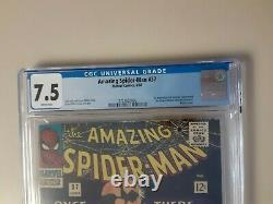 Amazing Spider-Man 37 CGC 7.5 First Norman Osborn aka Green Goblin WHITE Pages