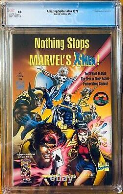 Amazing Spider-Man #375 Marvel 1993 Venom CGC 9.8 NM/MT White Pages Comic