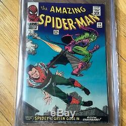 Amazing Spider-Man 39 CGC 9.2 1st Romita WHITE PAGES KEY