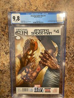 Amazing Spider-Man 4 (Marvel) CGC 9.8 White Pages 1st appearance of Silk