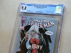 Amazing Spider-Man #607 CGC 9.8 NM/MT WHITE Black Cat BEST EBAY PRICE Free ship