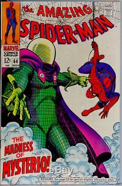 Amazing Spider-Man #66 CGC 9.4 WHITE Mysterio Far From Home movie Green Goblin