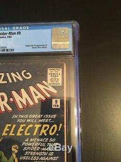 Amazing Spider-Man 9 CGC 4.0 OW To White Pgs. 1st Elecktro 3 Day No Reserve NICE