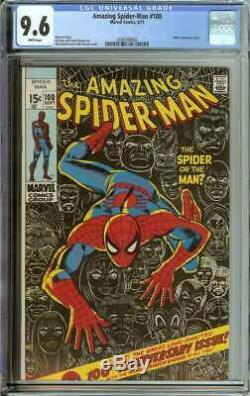 Amazing Spider-man #100 Cgc 9.6 White Pages
