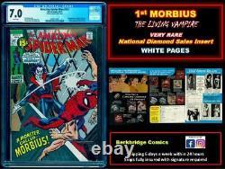 Amazing Spider-man 101 Cgc 7.0 White Nds Insert Scarcer Than Mark Jewelers