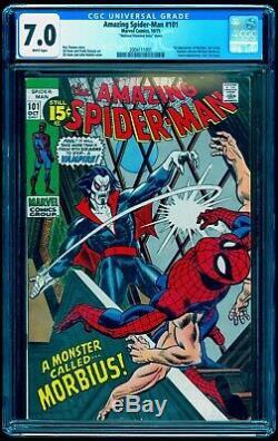 Amazing Spider-man #101 Cgc 7.0 White Nds Much Scarcer Than Mark Jeweler