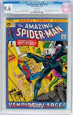 Amazing Spider-man #102 Cgc 9.6 White Origin And 2nd App Morbius Cgc #0220051020