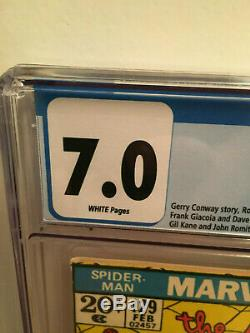 Amazing Spider-man #129 Bronze age 1st Punisher Huge Key CGC 7.0 WHITE pages FVF