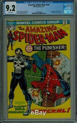 Amazing Spider-man #129 Cgc 9.2 White Pages