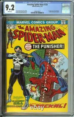 Amazing Spider-man #129 Cgc 9.2 White Pages // 1st Appearance Of The Punisher