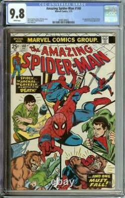 Amazing Spider-man #140 Cgc 9.8 White Pages // 1st App Of Gloria Grant