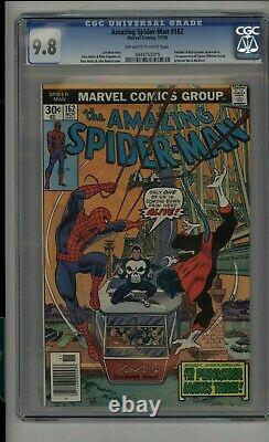 Amazing Spider-man #162 1976 Marvel Comics 1st Jigsaw Cgc 9.8 Ow-white Pages