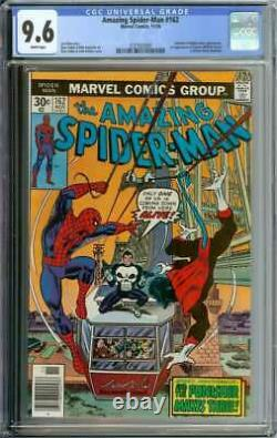 Amazing Spider-man #162 Cgc 9.6 White Pages // 1st Appearance Jigsaw 1976