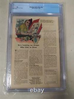 Amazing Spider-man #18 (1964) 9.0 Cgc Graded 1st Ned Leeds Cream Off-white Pages