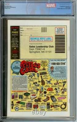 Amazing Spider-man #194 Cgc 9.6 White Pages / 1st App Of The Black Cat Newsstand