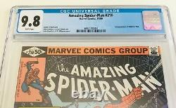 Amazing Spider-man #210 Cgc 9.8 White Pages! 1st Appearance Of Madame Web